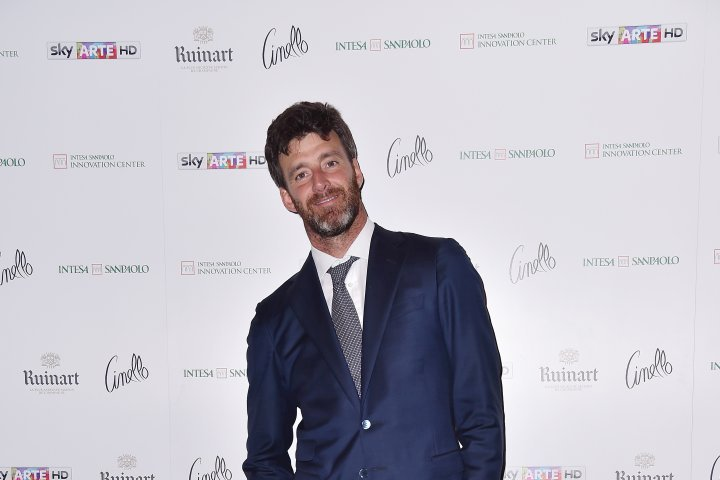 MILAN, ITALY - APRIL 11:  Alberto Crivelli attends Save The Artistic Heritage - Vernissage Cocktail on April 11, 2018 in Milan, Italy.