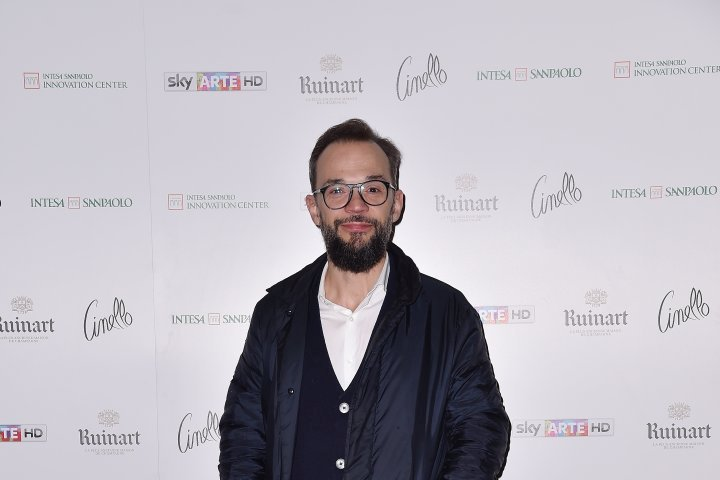 MILAN, ITALY - APRIL 11:  Dino Vannini attends Save The Artistic Heritage - Vernissage Cocktail on April 11, 2018 in Milan, Italy.