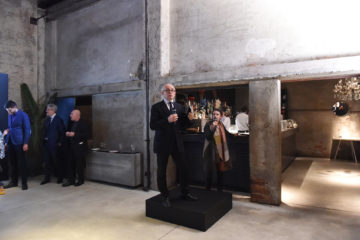 MILAN, ITALY - APRIL 11:  Marco Carminati attends Save The Artistic Heritage - Vernissage Cocktail on April 11, 2018 in Milan, Italy.
