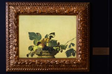 DAW-Caravaggio-Canestra di Frutta-Pinacoteca Ambrosiana
