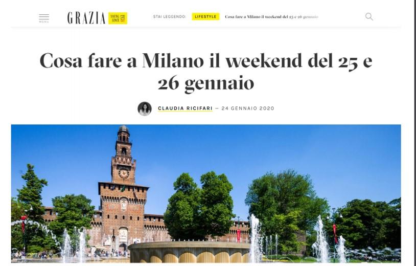 Cosa fare a Milano il weekend del 25 e 26 gennaio